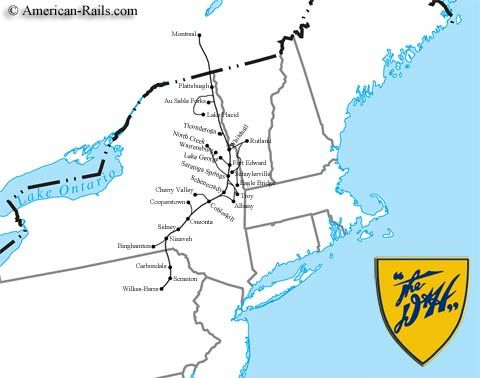the delaware and hudson railway