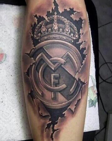 4 Tatuajes De Escudos De Futbol De Grandes Equipos Tatuajes Para