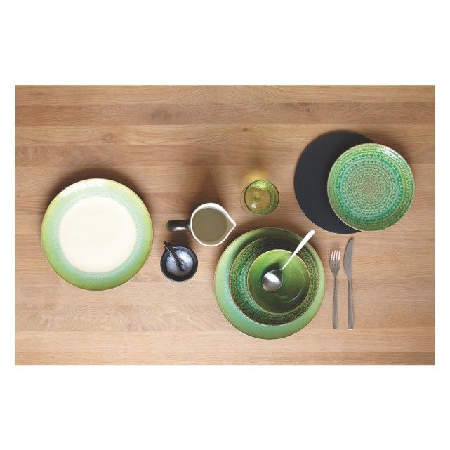 SINTRA Green dinner plate D27cm | Buy now at Habitat UK