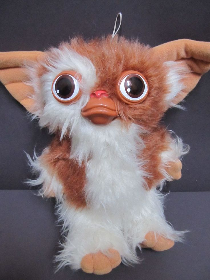 Vintage Hasbro Softies Gizmo Gremlins Movie Squeaks 10 ...