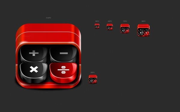 New Icon Concept by Aries Max, via Behance