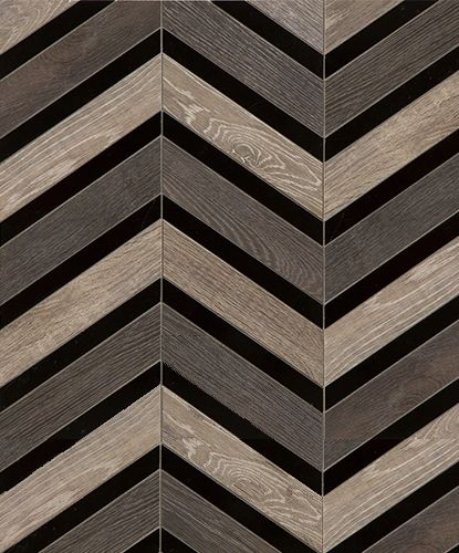 """""""Tuxedo"""" from the Sterling Row Porcelain Tile Collection from Walker Zanger"""