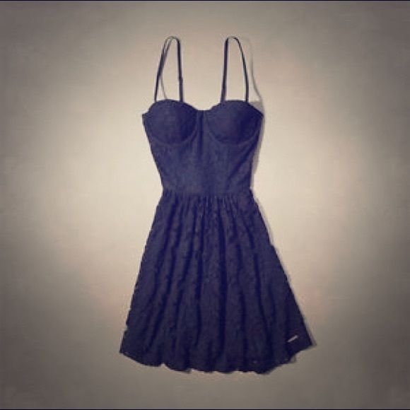 Abercrombie and Fitch dress Navy lace dress Dresses Mini