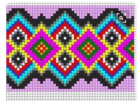 #Günaydın.  Benim gibi deli işi şablonu  örmek isteyenler olabilir 😩😂😂 #clutch lar için uygun bir #şablon. #clutchbag  #sarı  #wayuu  #wayuubag  #wayuubags #bag #bags #çanta #moda #trend #tığişi  #tığ #handmade  #peroni #crochet #ponpon #pompones #pembe #pink #mercan #mavi #mor #gri