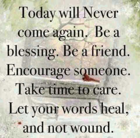 being a blessing encouraging quotes