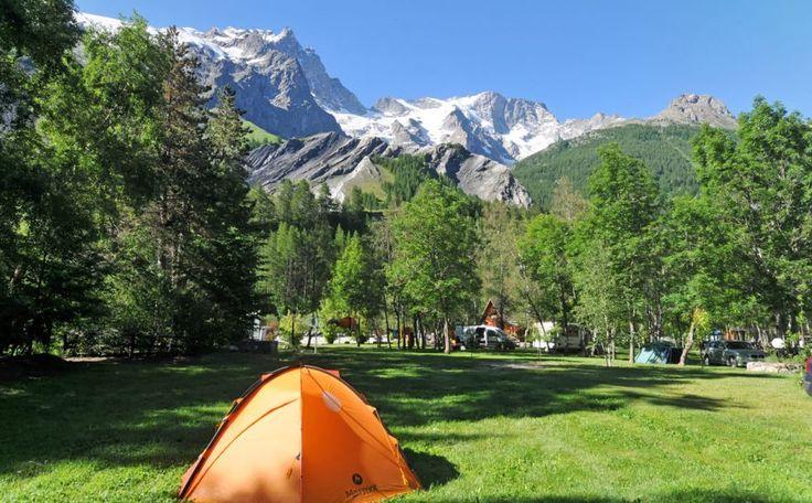 Campings in de Franse Alpen