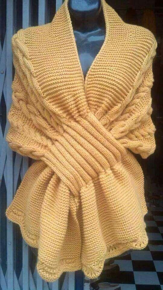 tricoter l'echarpe yakari
