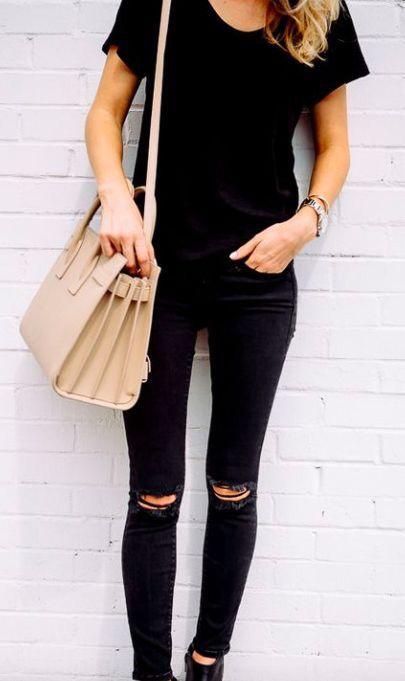 Black & beige.