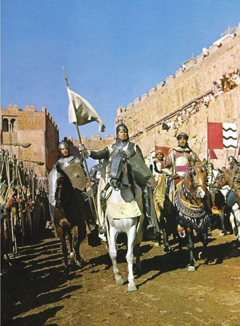 medievalart: Charlton Heston as El Cid.