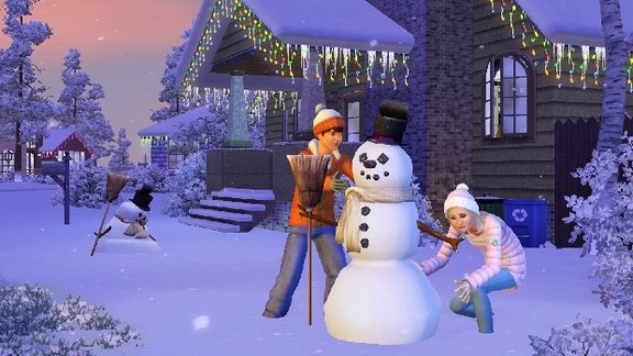 There are people in the world who have not encountered making a snowman. Well, if you want to, the SIMS 3 Seasons game will let you experience snowman making. Play SIMS 3 Seasons Expansion by getting SIMS 3 Seasons Crack. By playing the game you will find things that you can do which you have not encountered in the real life. So don't hesitate to have a SIMS 3 Seasons Crack for you to fully enjoy playing the game.