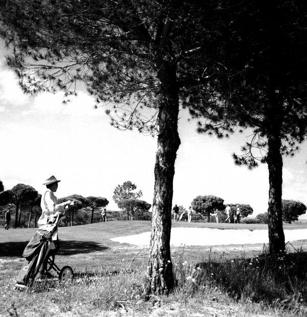 Vale do Lobo 1970. First Amateur Week Golf Tournament, Algarve, Portugal