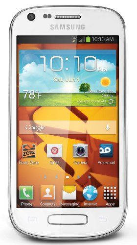 Samsung Galaxy Prevail II (Boost Mobile) Android 4.1 & Get Android Apps on Google Play. 4.0-inch Touch Screen. 5MP Camera with Flash + Video camera and 1.3MP Front Facing Camera. 1.4GHz Processor. What's in the Box: handset, rechargeable battery, charger, quick start guide.  #Samsung #Wireless