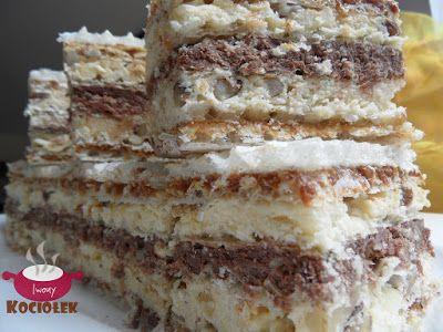 Kociołek Iwony: Wafel snickers