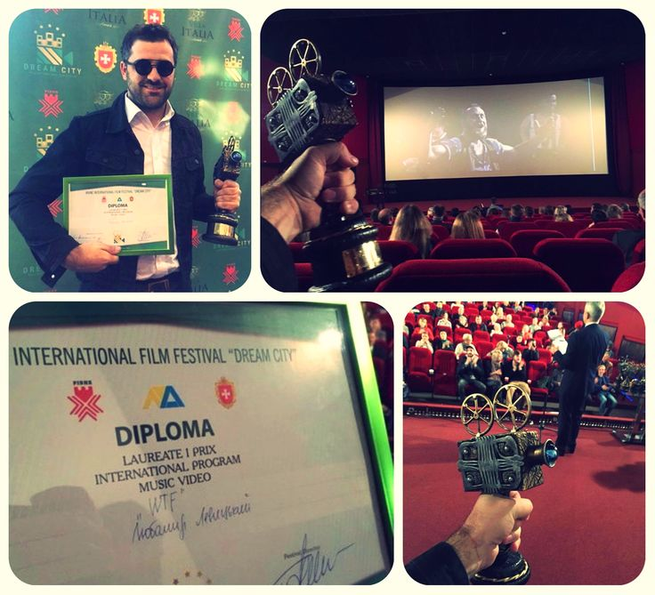 """Another grand victory!  International """"Dream City Film Festival"""" awarded the video clip """"WTF"""" by Transylvania [Damn Fun] with the Grand Prix. Await the full-length… it will be [Damn Fun]. OFFICIAL VIDEO: https://goo.gl/m1ZnwZ #TransylvaniaDamnFun #VladDamian #ConstantineZgomot #WTF #bestmusicvideo"""