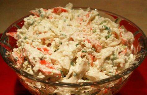 How to make Portuguese crab salad (Salada de Caranguejo).