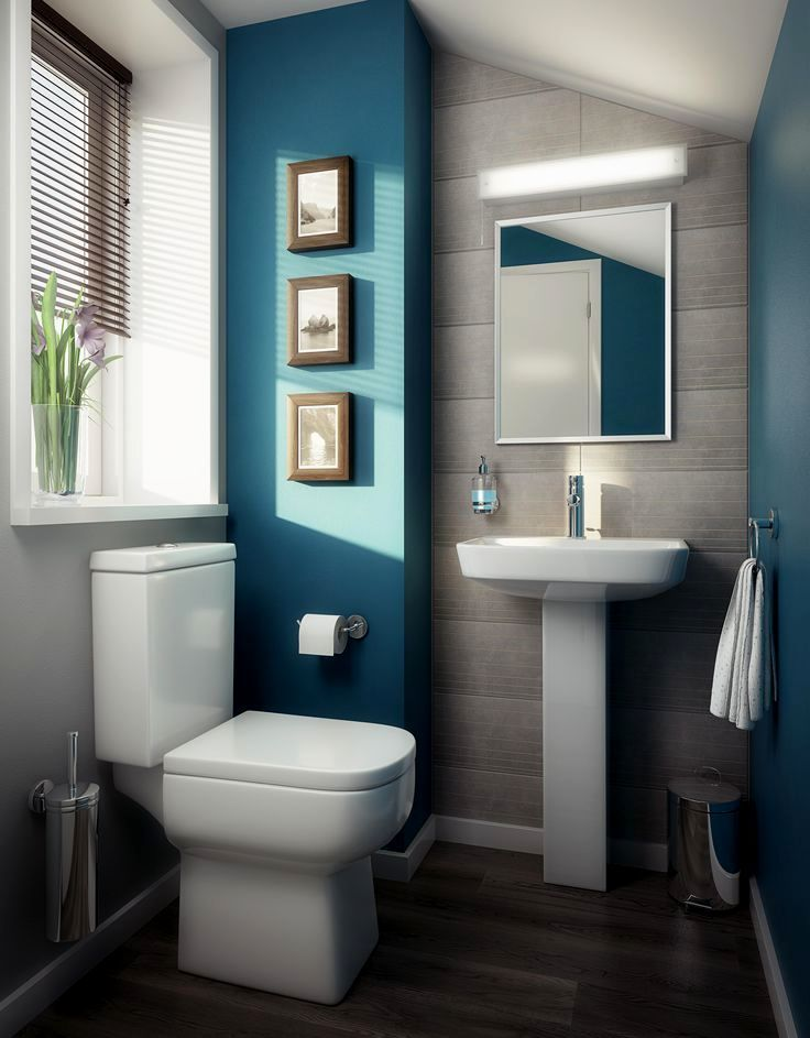 6 Blue Bathroom Ideas Soothing Looks Houseminds Bathroom Design Small Modern Small Bathrooms Bathroom Remodel Designs