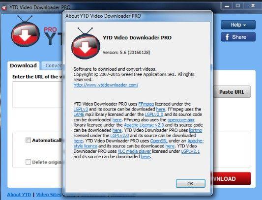 free ytd downloader old version