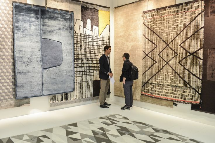 Pure Editions @ imm cologne 2016 // Exhibitor: cc tapis