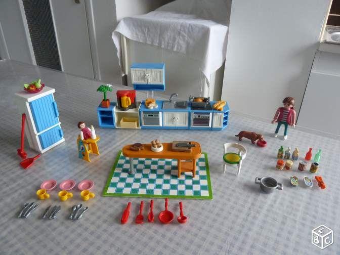 cuisine playmobil 5329
