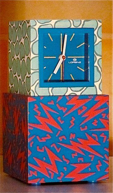"George Sowden  ""Acapulco"" clock  Memphis  1981"