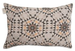 House of Rym Go Undercover Heavenly Honeycomb grey cushion