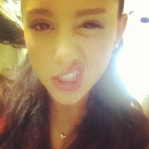 Ariana Grande Rare | Ariana Grande Instagram Picture: Olympics got me in a fighting mood # ...