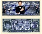 Roger Moore 007 Novelty Dollar Bill comes In a Fre…