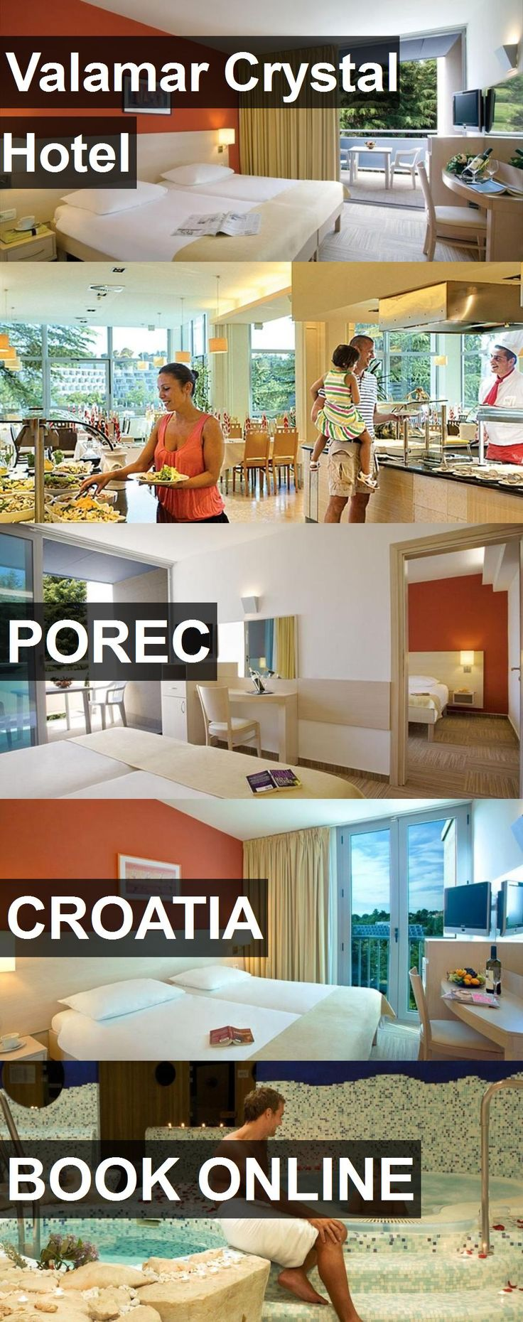 Valamar Crystal Hotel in Porec, Croatia. For more information, photos, reviews and best prices please follow the link. #Croatia #Porec #travel #vacation #hotel