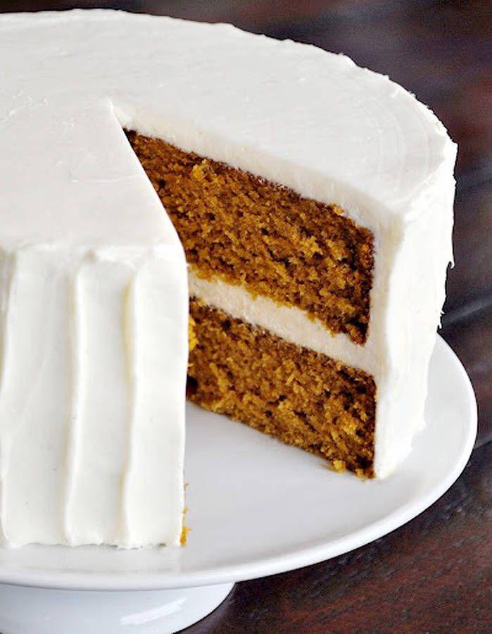 Gâteau à la citrouille et aux épices