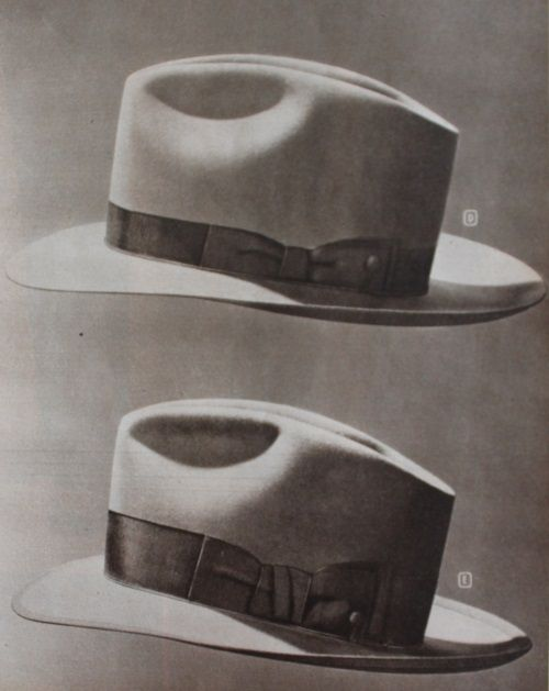 37e7813afd 1940s Men's Hats: Vintage Styles, History, Buying Guide | Hats ...