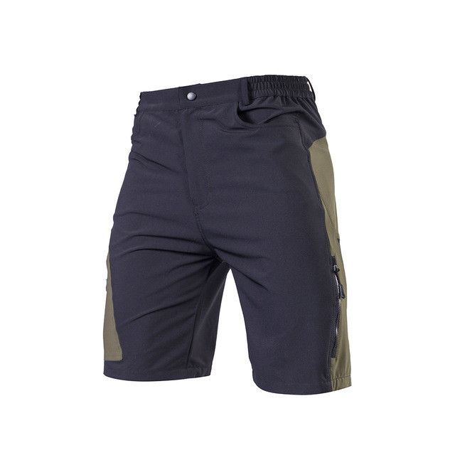 XS-XL Men Cycling Shorts Breathable Quick Dry Outdoor Downhill Riding Shorts Polyester MTB Short Pants Culotte Ciclismo Hombre