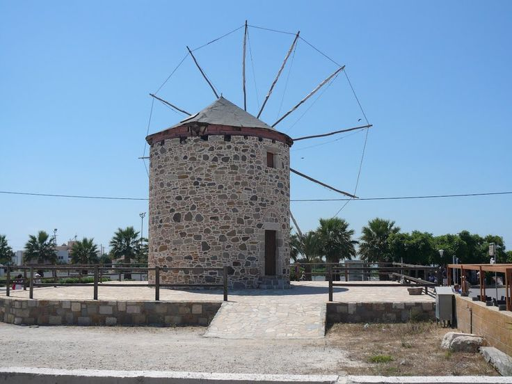 Antimachia windmill #kos #greece
