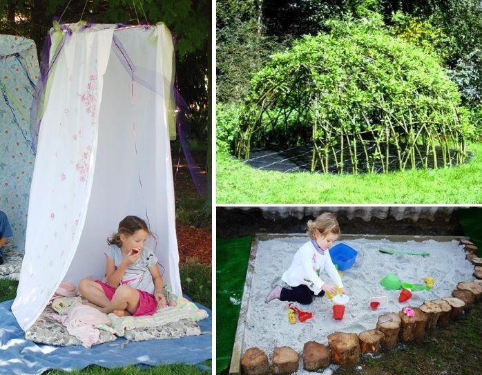 outdoor-spielplatz-für-kinder-selber-gestalten Gartenideen - gartenideen fur kleine garten