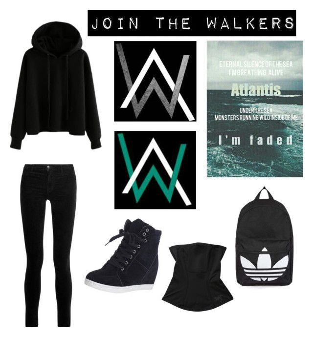 """""""Feature: Alan Walker"""" by blondypup ❤ liked on Polyvore featuring J Brand, Arc'teryx and Topshop"""