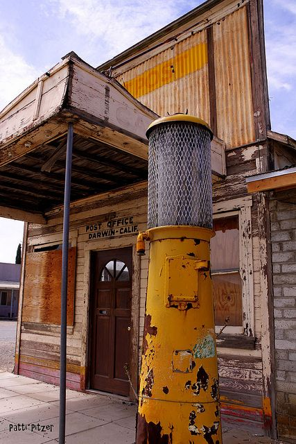 Darwin, California ghost town
