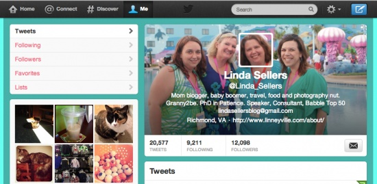 Make Twitter Cover Photo with Integrated Avatar