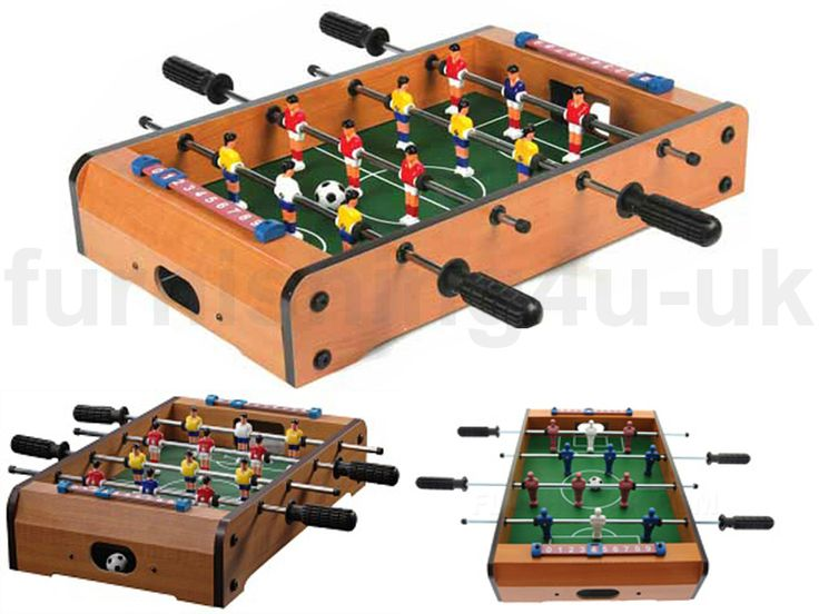 NEW TABLETOP TABLE TOP FOOTBALL TABLE SOCCER GAME FOOSBALL ...