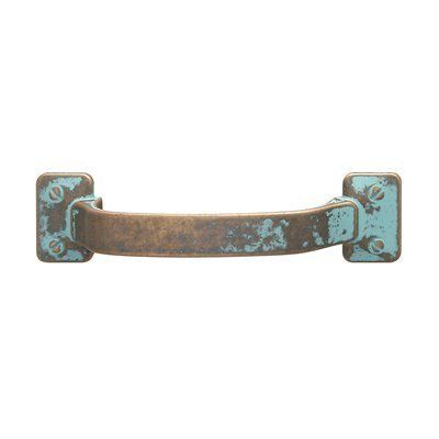 Traditional Zinc Pull Cabinet Pulls and Knob, Rustic Copper, $10.24