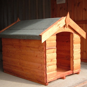 Traditional Style Dog Kennel