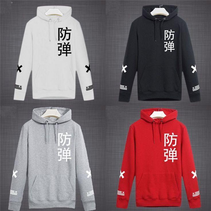 Autumn Fashion Coat Jacket Bts Hooded Korean Wave Sweater Fine Sweatshirts