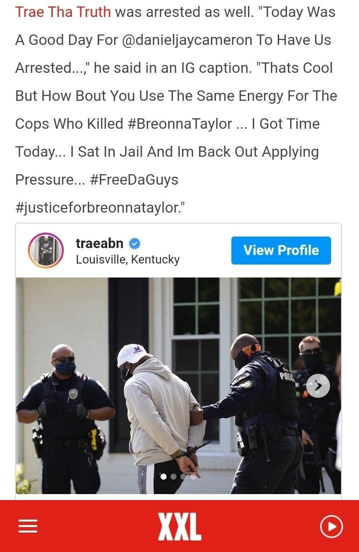 Justiceforbre Justiceforbreonnataylor Breonnataylor Danielcameron Kentucky Louiseville In 2020 Trae Tha Truth Truth Ig Captions