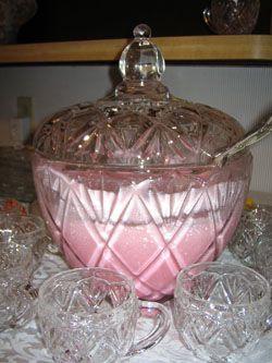 Creamy Pink Punch   Happy Birthday, Elaina | Percolations
