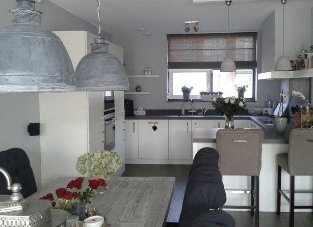 Landelijk interieur in nieuwbouw woning keuken for Afbeeldingen interieur