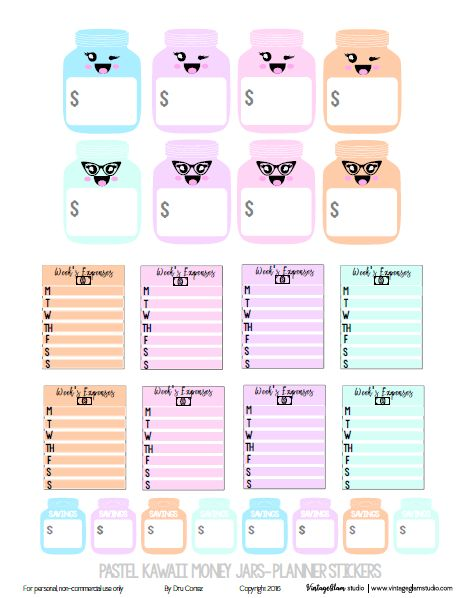 Hello peeps!  Just wanted to share this set of  money jar planner stickers as you get ready for the New Year and some money saving resolutions. As for the freebie, these monthly layout planner stickers are specifically designed for fans of the Happy Planner, but they can be used in  your Erin Condren as well as … … Continue reading →