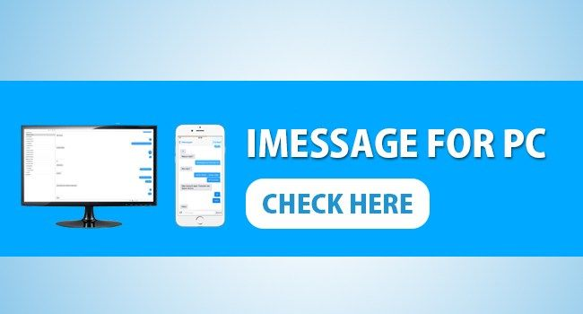 iMessage on PC is the unrivaled informing application for Apple devices.