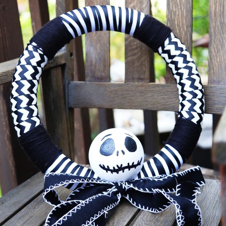 """Thanks to HP® for sponsoring this article. """"Won't ya please make way for a very special guy? Our man, Jack, is King of the Pumpkin patch."""" This wreath will be the centerpiece of it all. Hang Jack on the front door, or inside on a main wall. It's simply meant to be! Show off your …"""