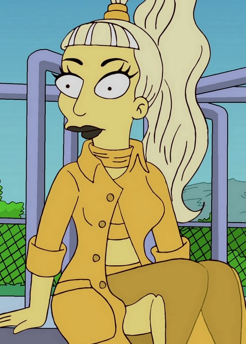 Sorry, The simpsons lady gaga porn share your