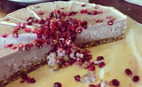 Coconut Supercheeze Maqui Delight. Want to win the Vanilla Beans used in this recipe? Check out https://www.facebook.com/sallyjoseph.nutritionandwellbeing/app_522008621164365