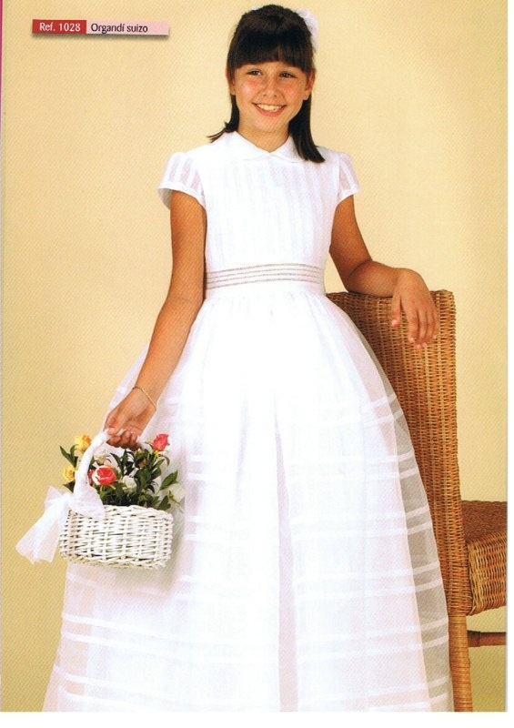 organdi suizo: Communion Dresses, Organdi Suizo, Products