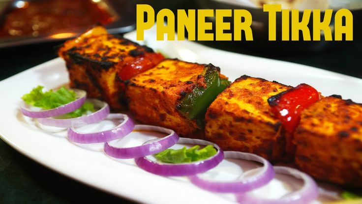 Paneer Tikka with Tzasiki Sauce Recipe - Healthy Vegetarian Recipes